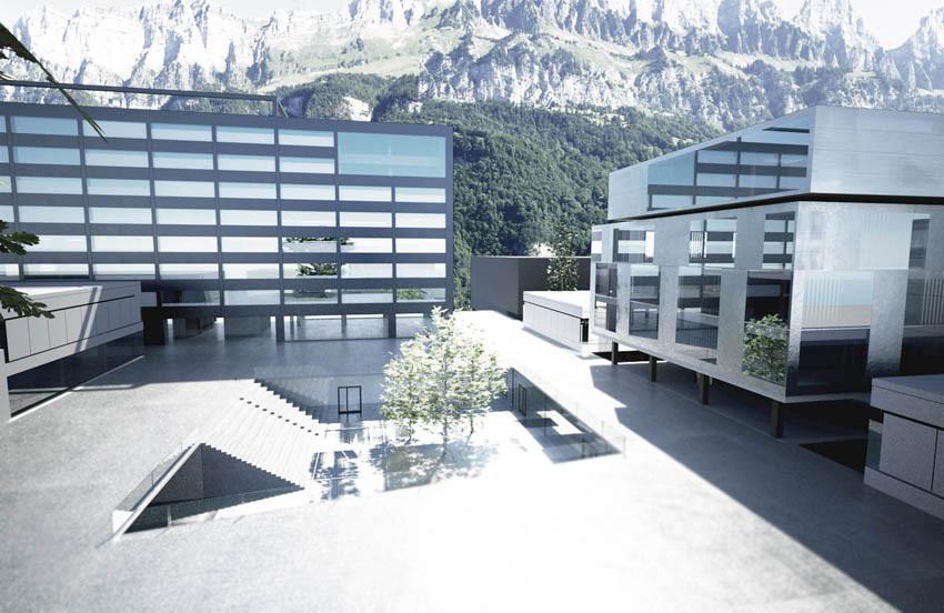 Komplexes hochbauvorhaben die werkbank for Architektur innsbruck